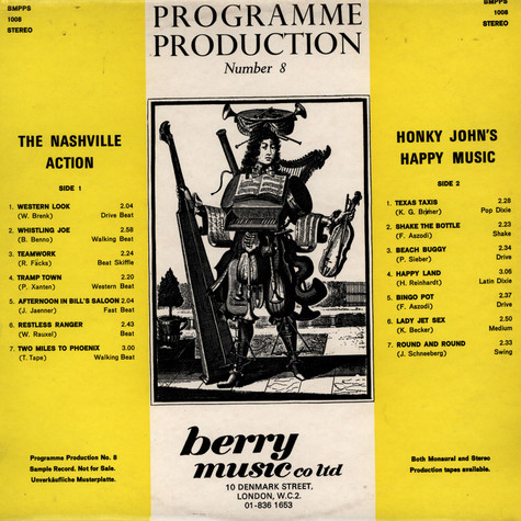Nashville Action, The / Honky John's Happy Music - Programme Production Number 8
