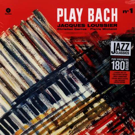 Pierre Loussier - Play Bach Volume 1