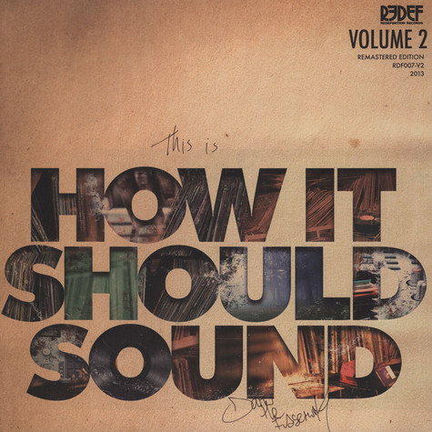 Damu The Fudgemunk - How It Should Sound Volume 2 Green Vinyl Signed Edition