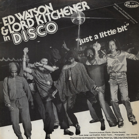 Ed Watson And Lord Kitchener - Just A Little Bit