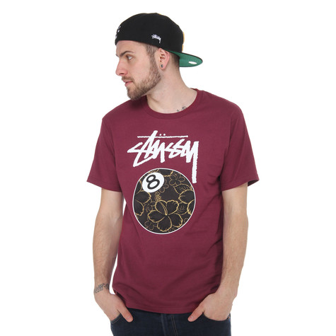 Stüssy - Gold Flake 8 Ball T-Shirt