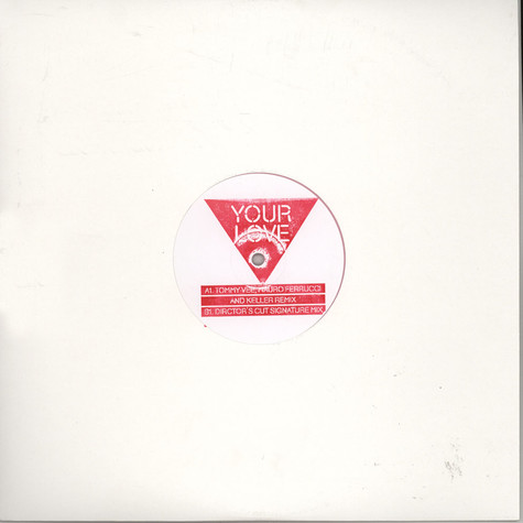 Frankie Knuckles Presents Director's Cut - Your Love feat. Jamie Principle (Remixes)
