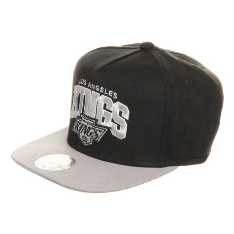 Mitchell & Ness - Los Angeles Kings NHL Arch Nubuk Snapback Cap