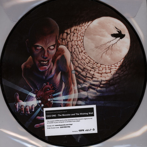 Cas One - The Monster And The Wishing Well Picture Disc