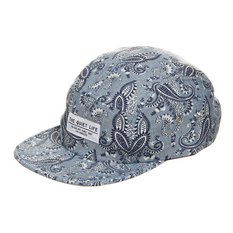 The Quiet Life - Paisley 5 Panel Cap