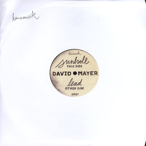 David Mayer - Sunhole