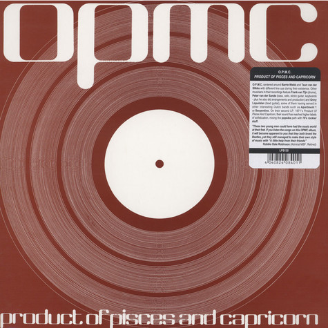 O.P.M.C. - Product Of Pisces And Capricorn