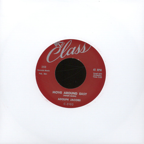 Adolph Jacobs / Titans - Move Around Easy/ No Time