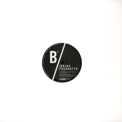 Indira Paganotto - Time Out Man EP