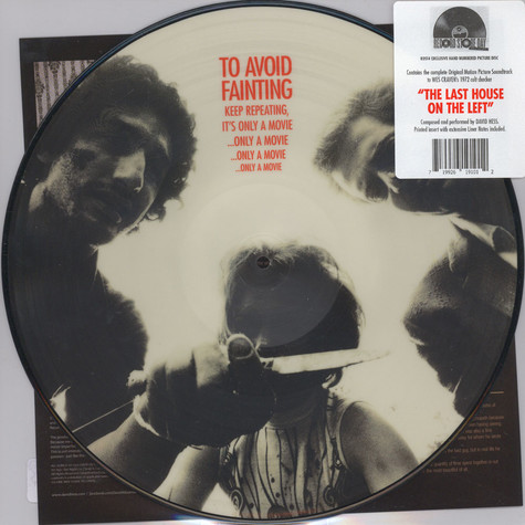 David Hess - OST The Last House On The Left Picture Disc Edition