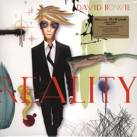 David Bowie - Reality Transparent Green Vinyl Edition