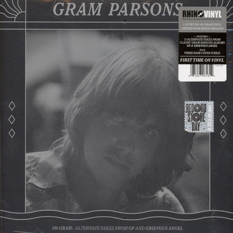 Gram Parsons - Alternate Takes from GP and Grievous Angel