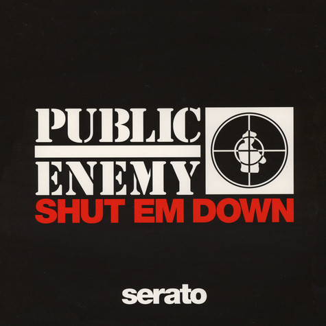 Public Enemy x Serato - Shut Em Down Picture Disc Control Vinyl