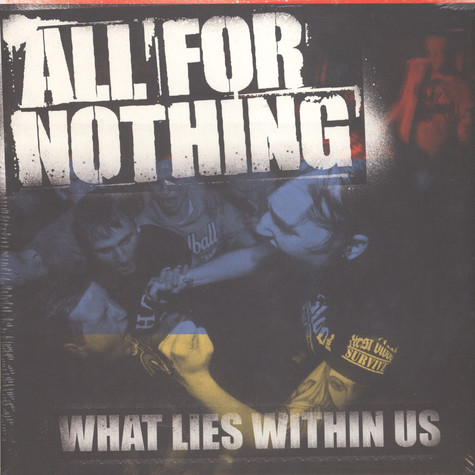 All For Nothing - What Lies Within Us Black Vinyl Edition