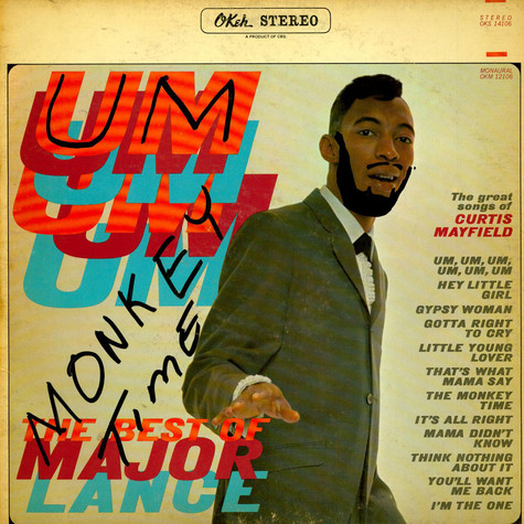 Major Lance - Um, Um, Um, Um, Um, Um - The Best Of Major Lance