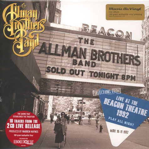 Allman Brothers Band, The - Selections From Play All Night