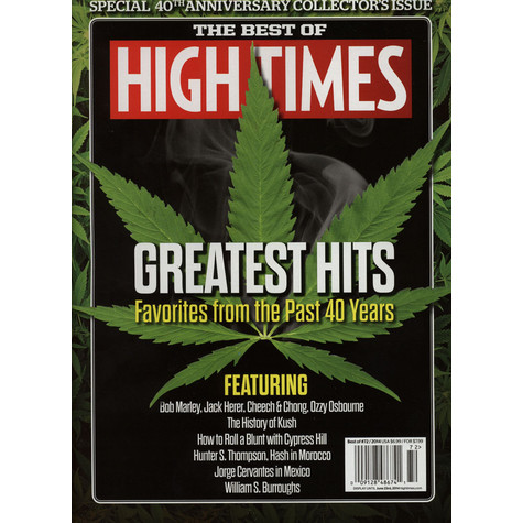 High Times Magazine - The Best Of High Times - Greatest Hits