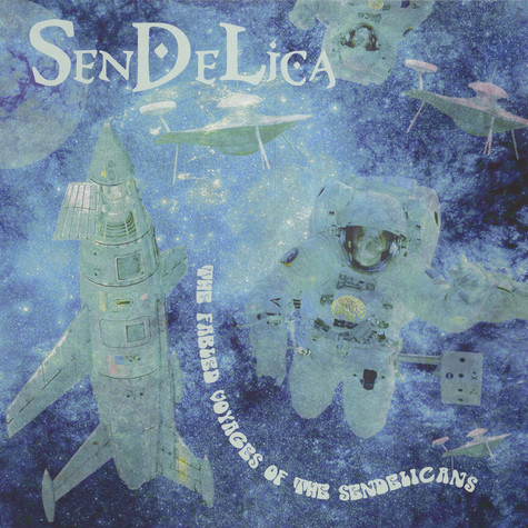 Sendelica - The Fabled Voyages Of The Sendelicans Black Vinyl Edition