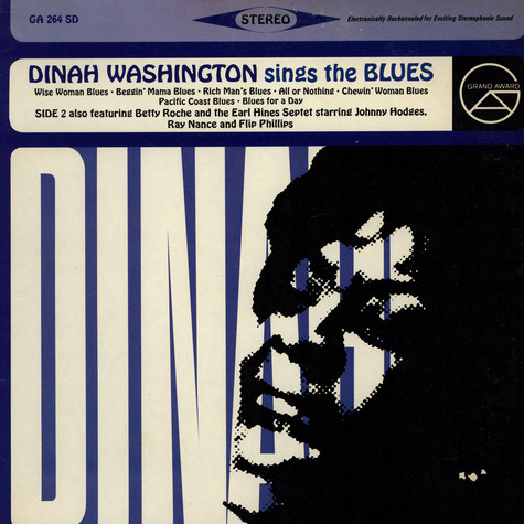Dinah Washington - Dinah Washington Sings The Blues