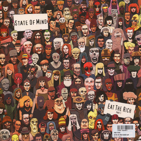 State Of Mind - Eat The Rich Vinyl Album Part 1