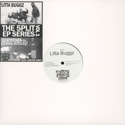 Litta Buggz / DJ Stitches & Eternal Intellect - The 5plit EP Series Volume 1