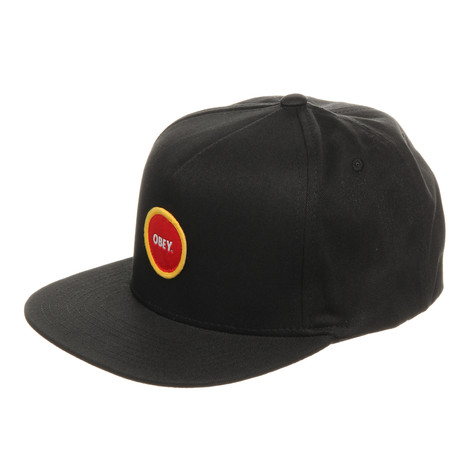 Obey - Circle Patch Snapback Cap