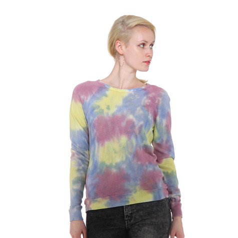 Obey - Tie Dye Mental Raglan Women Sweater