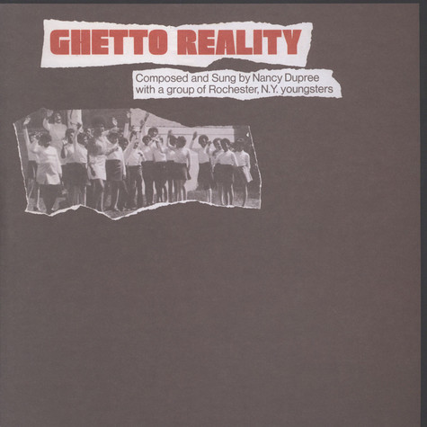 Nancy Dupree & The Ghetto Reality Youngsters - Ghetto Reality