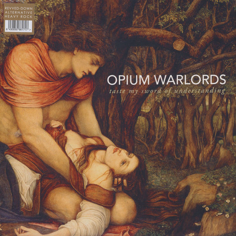 Opium Warlords - Taste My Sword Of Understanding Gold Vinyl Edition