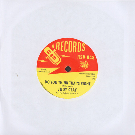 Judy Clay - Do You Think That's Right