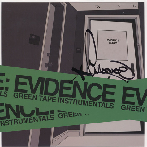 Evidence - Green Tape Instrumentals Signed Edition