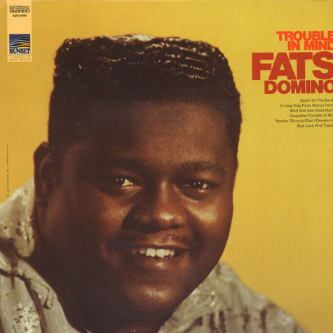 Fats Domino - Trouble In Mind