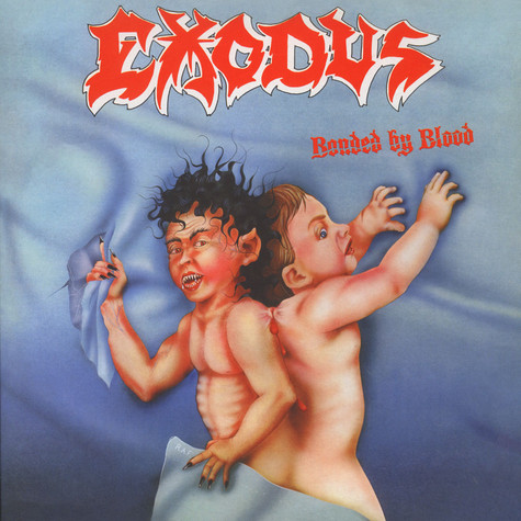 Exodus - Bonded By Blood Black Vinyl Edition
