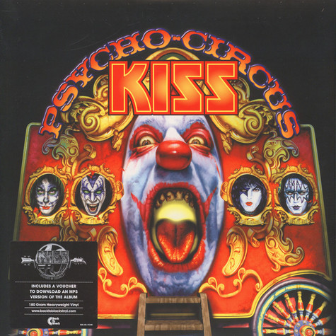 Kiss - Psycho Circus Back To Black Edition