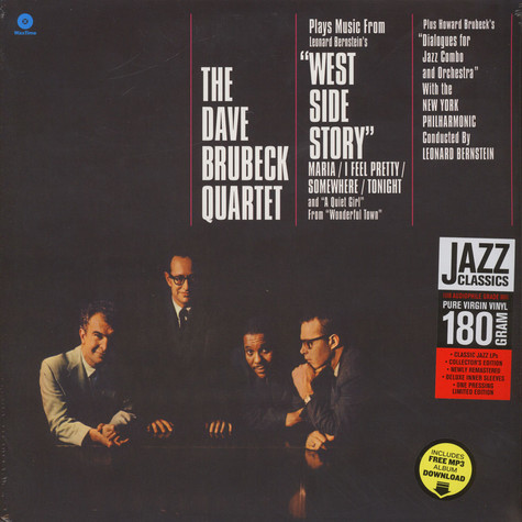Dave Brubeck Quartet - Plays Music From West Side Story And