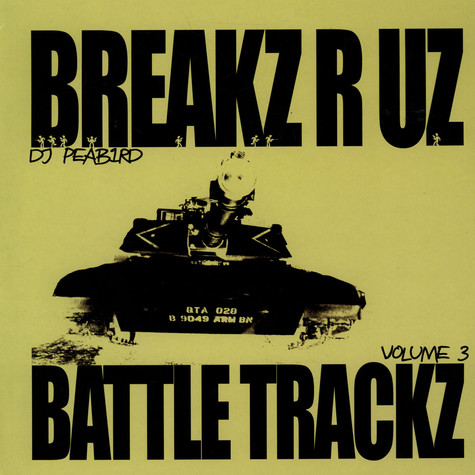 DJ Peabird - Battle Trackz Volume 3