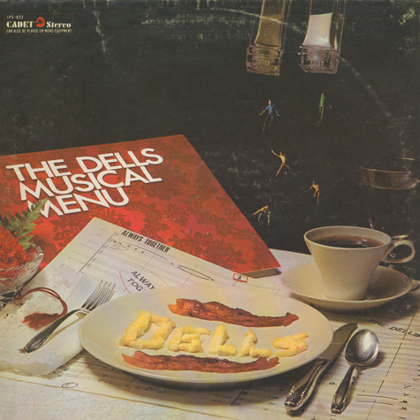 Dells, The - Always Together - The Dells Musical Menu