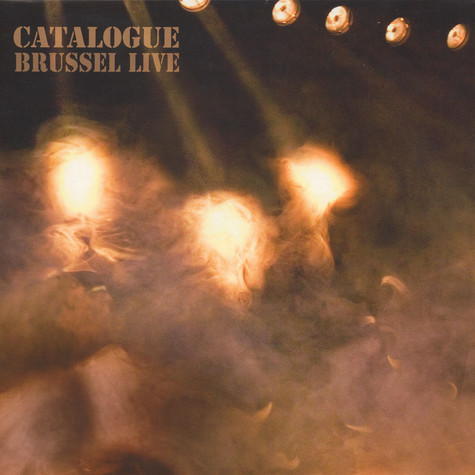 Catalogue - Brussel Live