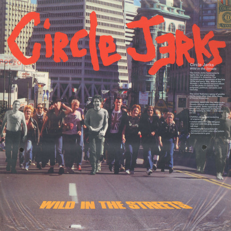 Circle Jerks - Wild In The Streets Red Vinyl Edition