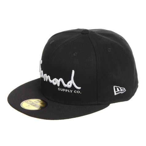 2c60dc6f293 Diamond Supply Co. - OG Script Fitted Cap (Navy)