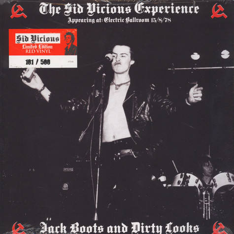 Sid Vicious - Experience - Jack Boots & Dirty Looks Red Vinyl Edition