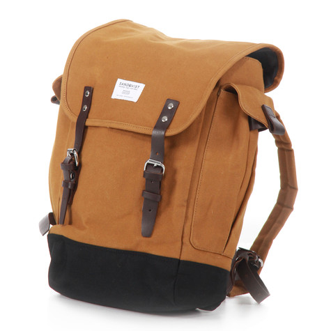 Sandqvist - Bob Waxed Canvas Backpack