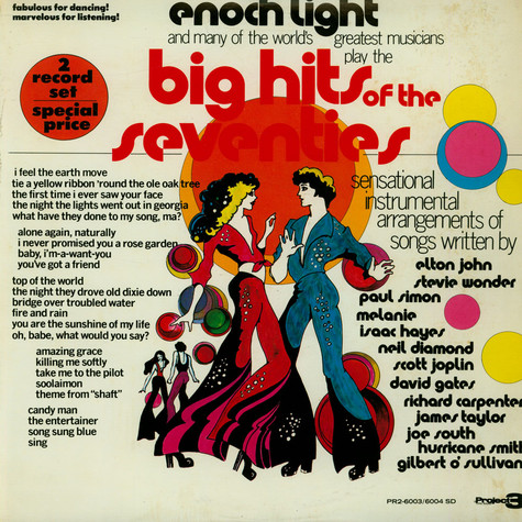 Enoch Light - Big Hits Of The Seventies