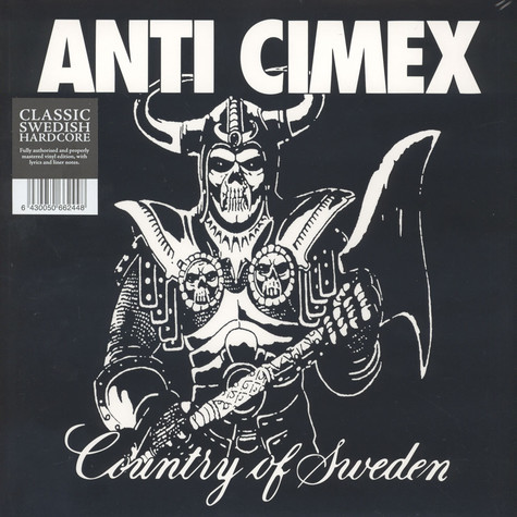 Anti Cimex - Absolut Country Of Sweden Black Vinyl Edition