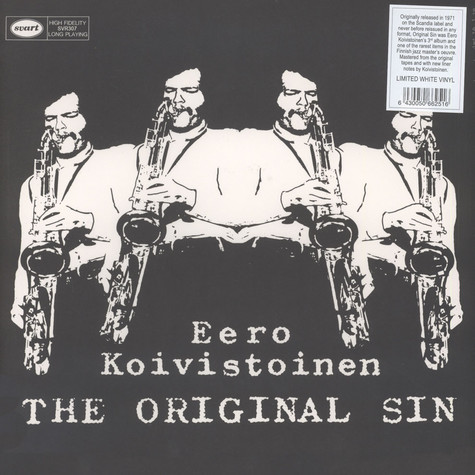 Eero Koivistoinen - The Original Sin White Vinyl Edition