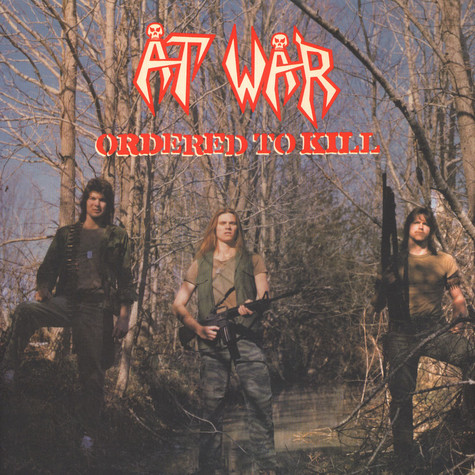 At War - Ordered To Kill Colored Vinyl Edition