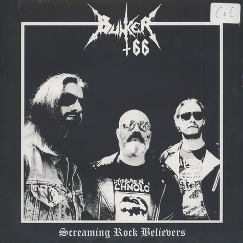 Bunker 66 - Screaming Rock Belivers Colored Vinyl Edition
