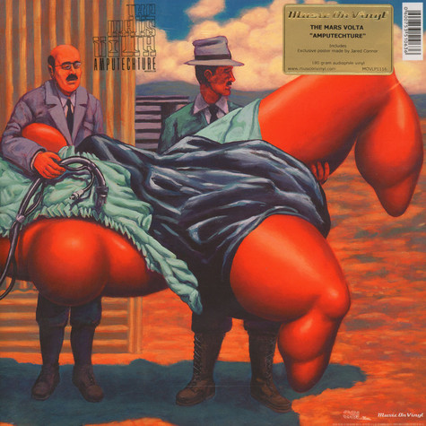 Mars Volta, The - Amputechture Black Vinyl Edition