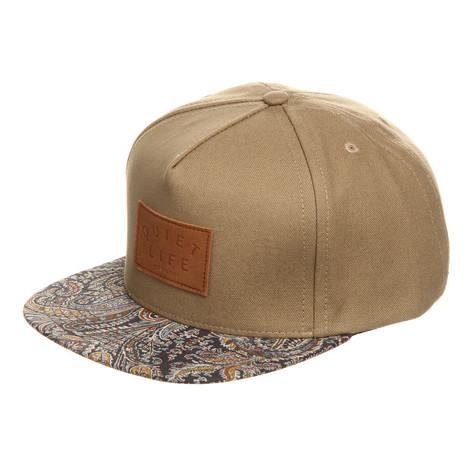 The Quiet Life - Paisley Bill Strapback Cap