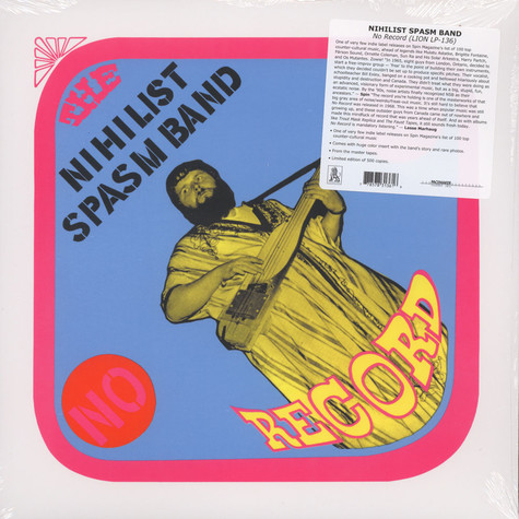 Nihilist Spasm Band, The - No Record